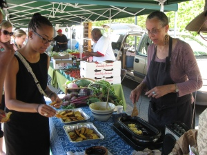 USDA Farmer's Market with Leni Sorenson on Friday, June 8