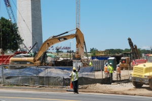 NMAAHC Construction Site