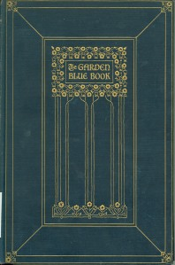 The Garden Bluebook (1929 edition)