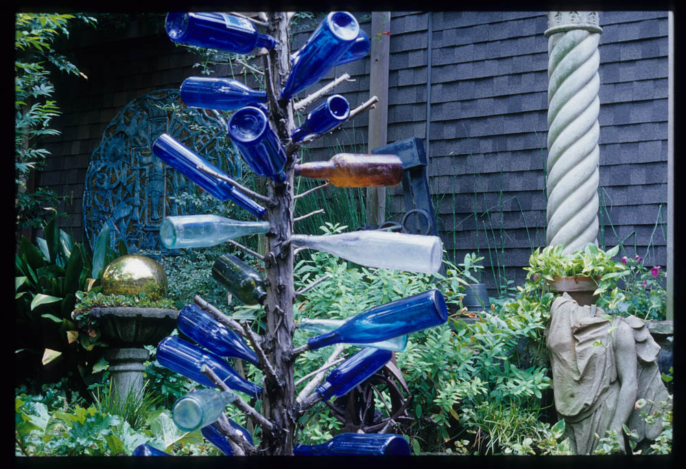 A Bottle Tree In The U201cOak Lawnu201d Garden Room Of The Gibson Garden. Although  This Garden In Dallas Is Typically Noted For Its Japanese Inspired Design,  ...