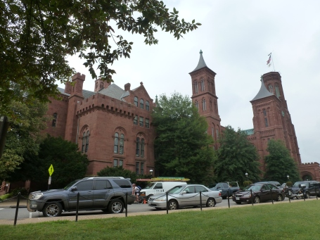 Trees around the Smithsonian Castle