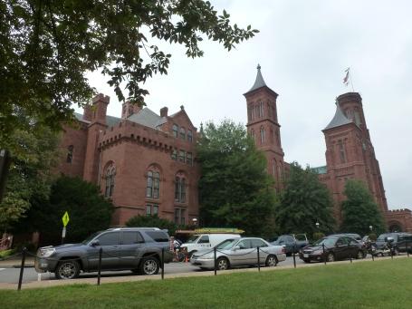 Trees around the Smithsonian Castle