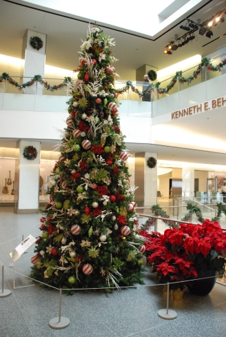 National Museum of American History holiday tree.