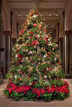 Smithsonian Castle holiday tree, 2010.
