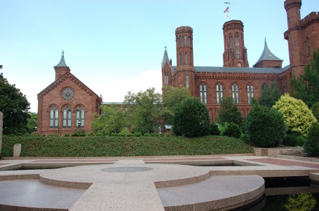 Moongate Fountain in the Haupt Garden