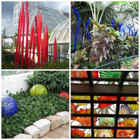 Chihuly Pieces at the Franklin Park Conservatory and Botanical Gardens, Columbus, Ohio