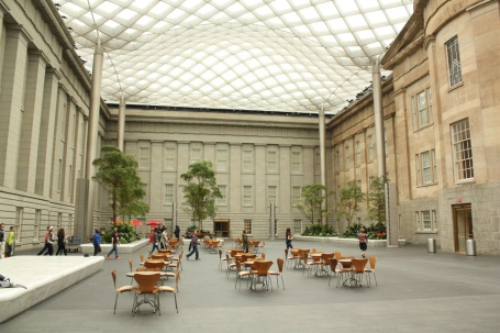Interior of the Robert and Arlene Kogod Courtyard at the Donald W. Reynolds Center for American Art and Portraiture