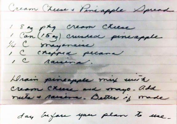 Jean's pineapple recipe