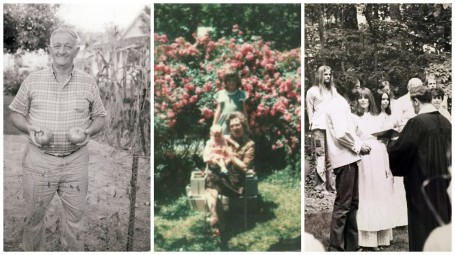Collage of Family Stories on Community of Gardens